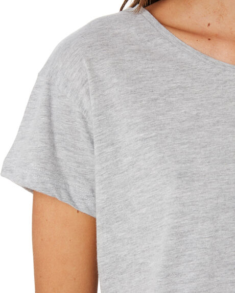 GREY MARLE WOMENS CLOTHING SILENT THEORY TEES - 6085027GRM