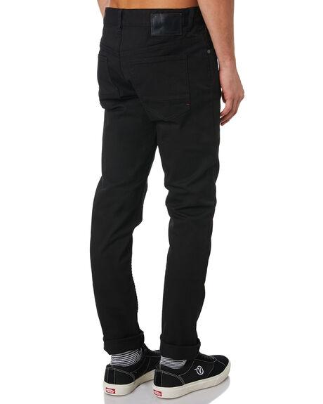 BLACK MENS CLOTHING GLOBE JEANS - GB01236003BLK