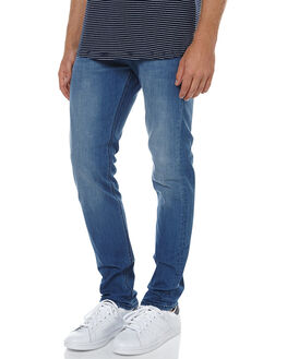 CAMBRIDGE BLUE MENS CLOTHING RIDERS BY LEE JEANS - R-500576-V47CBLU
