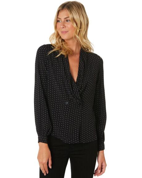 BLACK WOMENS CLOTHING ROLLAS FASHION TOPS - 13034-100