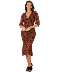 Stevie May Raanee Midi Dress - Shangri-La Floral | SurfStitch