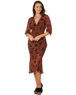 SHANGRI-LA FLORAL WOMENS CLOTHING STEVIE MAY DRESSES - SL191013DFLRL