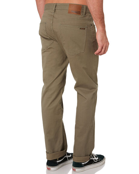 ARMY GREEN COMBO MENS CLOTHING VOLCOM PANTS - A1111703ARC