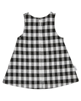 CHECK KIDS GIRLS TINY TRIBE DRESSES + PLAYSUITS - TTGW18-5009BCHK