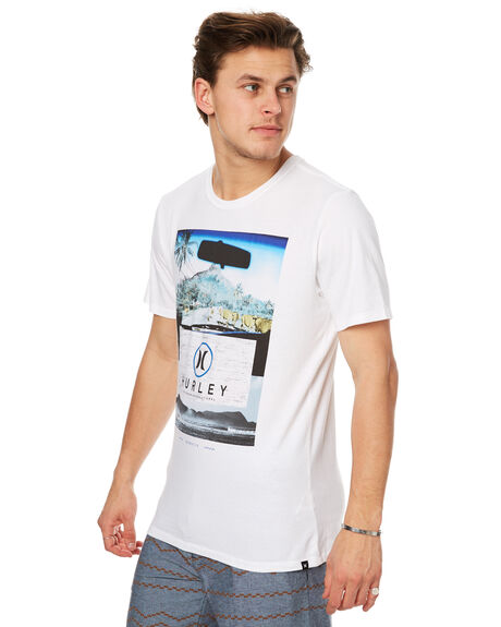 WHITE MENS CLOTHING HURLEY TEES - AMTSLCKD10A