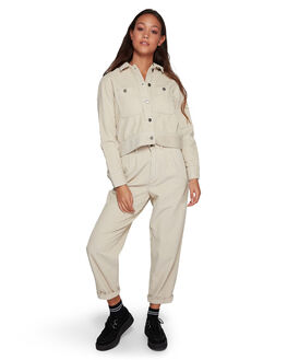 OATMEAL WOMENS CLOTHING RVCA JACKETS - RV-R207432-O10