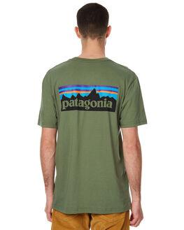 BUFFALO GREEN MENS CLOTHING PATAGONIA TEES - 38906BUFG