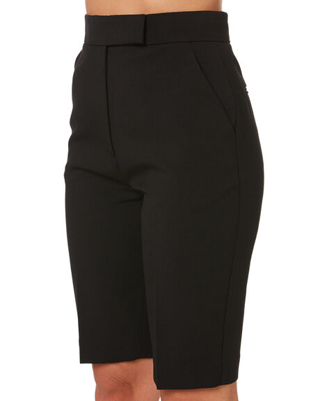 BLACK WOMENS CLOTHING C&M CAMILLA AND MARC SHORTS - WCMP4357BLK