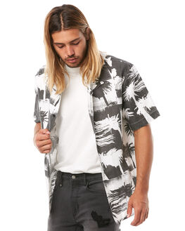 DISTORTED MENS CLOTHING THRILLS SHIRTS - TH8-210BZDSTRD