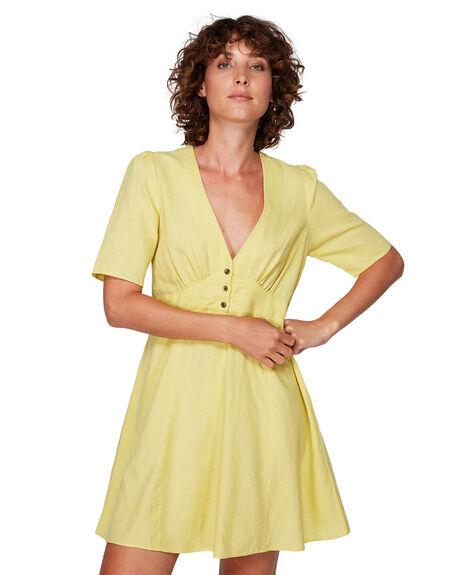 LEMON DROP WOMENS CLOTHING RVCA DRESSES - RV-R292755-LDR