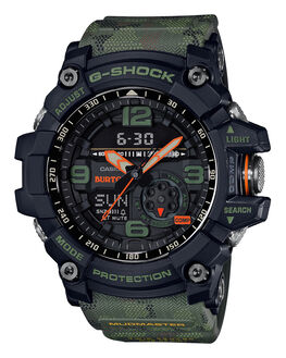 BLACK CAMO MENS ACCESSORIES G SHOCK WATCHES - GG1000BTN-1ABLKCM