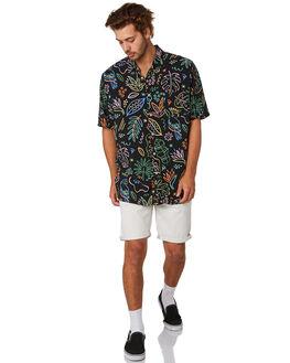 BLACK TROPICS MENS CLOTHING BARNEY COOLS SHIRTS - 307-CC4BLKTR