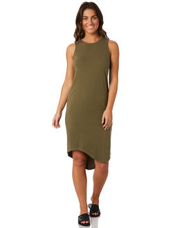 GREEN WOMENS CLOTHING SILENT THEORY DRESSES - 6010028GRN
