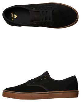 BLACK GUM MENS FOOTWEAR EMERICA SNEAKERS - 6101000118964