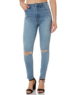 CHLOE BLUE WOMENS CLOTHING RIDERS BY LEE JEANS - R-551599-KN4