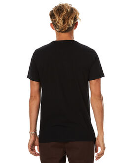 BLACK MENS CLOTHING SWELL TEES - S5173001BLK