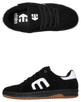 BLACK MENS FOOTWEAR ETNIES SKATE SHOES - 4101000505992