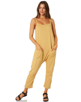 MUSTARD WOMENS CLOTHING THE BARE ROAD PLAYSUITS + OVERALLS - 092041-02MUST
