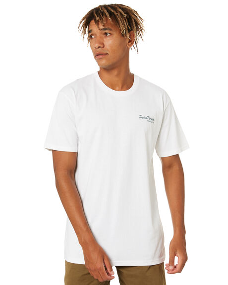 WHITE MENS CLOTHING SWELL TEES - S5201010WHT