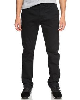 BLACK MENS CLOTHING DC SHOES PANTS - EDYNP03132KVJ0