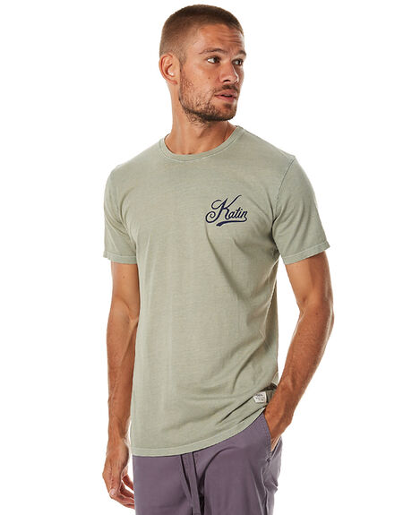 GREEN MENS CLOTHING KATIN TEES - TSFIEH16GRN