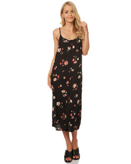 BLUSH GARDEN PRINT WOMENS CLOTHING ALL ABOUT EVE DRESSES - 6401002PRNT