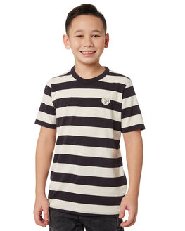 BLACK COOL GREY KIDS BOYS HURLEY TOPS - BQ0591013
