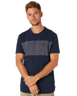 NAVY MENS CLOTHING BILLABONG TEES - 9582002NVY