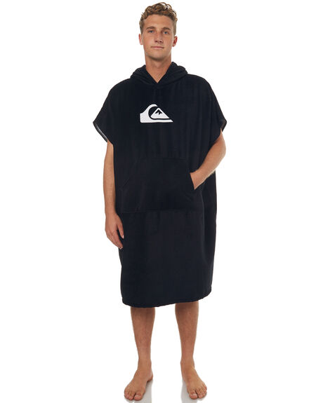 BLACK MENS ACCESSORIES QUIKSILVER TOWELS - EQYAA03595KVJ0