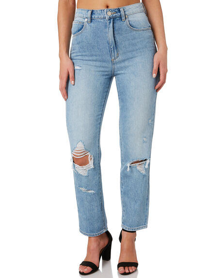 WILDLIFE WOMENS CLOTHING A.BRAND JEANS - 71491-4538