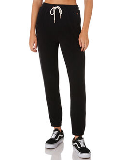 BLACK WOMENS CLOTHING VOLCOM PANTS - B1111801BLK