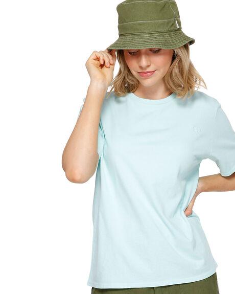 SEAFOAM WOMENS CLOTHING ELEMENT TEES - EL-293003-SEF