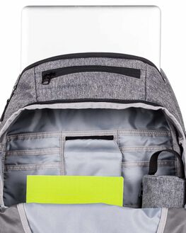 LIGHT GREY HEATHER MENS ACCESSORIES QUIKSILVER BAGS + BACKPACKS - EQYBP03556-SGRH