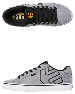 LIGHT GREY MENS FOOTWEAR ETNIES SKATE SHOES - 4101000282LGRY
