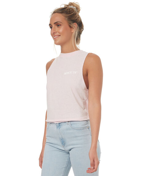 LILAC WOMENS CLOTHING BILLABONG SINGLETS - 6572194013