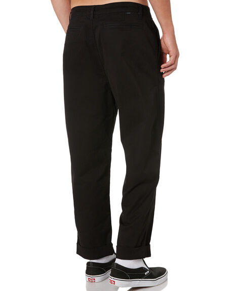 BLACK MENS CLOTHING SWELL PANTS - S5193191BLK