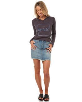 MID BLUE WOMENS CLOTHING RIP CURL SKIRTS - GSKCR18962