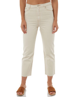 NATURAL WASH WOMENS CLOTHING ZULU AND ZEPHYR JEANS - ZZ1886NNAT