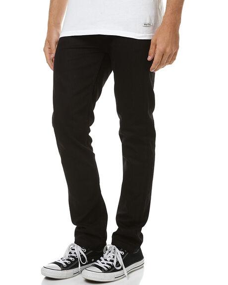 BLACK BLACK MENS CLOTHING RVCA JEANS - R153244BKBK