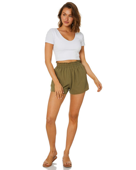SAGE WOMENS CLOTHING SWELL SHORTS - S8221231SGE