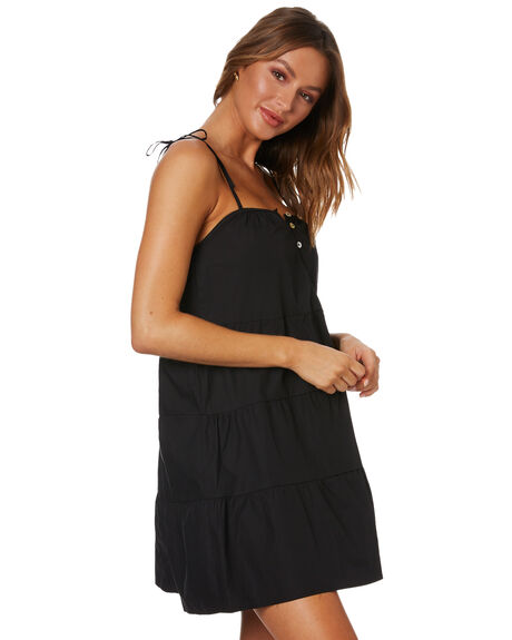 BLACK WOMENS CLOTHING SNDYS DRESSES - SFD390SHBLK