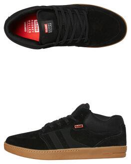 BLACK GUM MENS FOOTWEAR GLOBE SKATE SHOES - GBOCTMIDRM10023