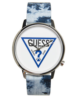 BLUE MENS ACCESSORIES GUESS ORIGINALS WATCHES - V1031M1BLU