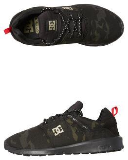 CAMO BLACK MENS FOOTWEAR DC SHOES SNEAKERS - ADYS700131KCO