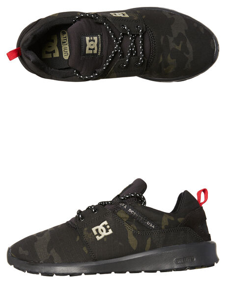 CAMO BLACK MENS FOOTWEAR DC SHOES SNEAKERS - ADYS700131KCO