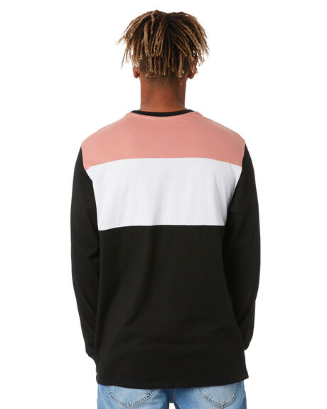 BLACK MENS CLOTHING SWELL TEES - S5211101BLACK