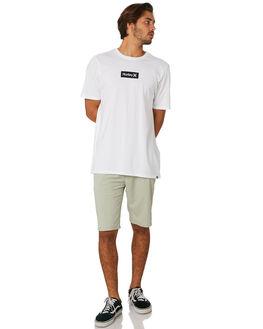 WHITE MENS CLOTHING HURLEY TEES - AJ1777100