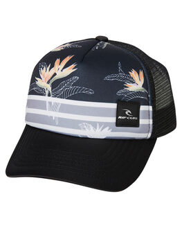 BLACK KIDS BOYS RIP CURL HEADWEAR - OCAQH10090