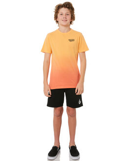 SUMMER ORANGE KIDS BOYS VOLCOM TEES - C43118T0SOR