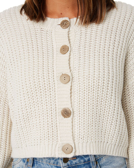 WHISPER WHITE WOMENS CLOTHING RUSTY KNITS + CARDIGANS - CKL0392-WWH